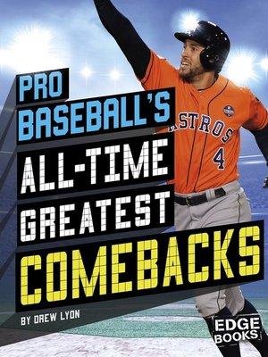 cover image of Pro Baseball's All-Time Greatest Comebacks