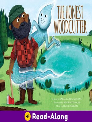 cover image of The Honest Woodcutter