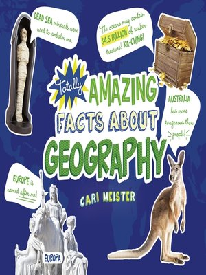 cover image of Totally Amazing Facts About Geography