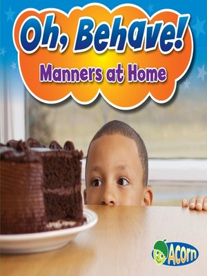 cover image of Manners at Home