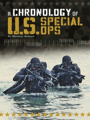 cover image of A Chronology of U.S. Special Ops