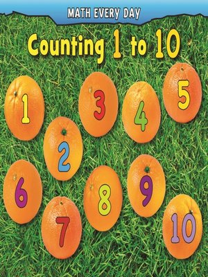 cover image of Counting 1 to 10