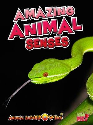 cover image of Amazing Animal Senses