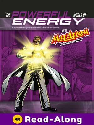 cover image of The Powerful World of Energy with Max Axiom, Super Scientist