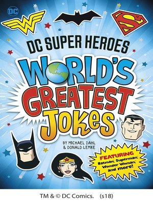 cover image of DC Super Heroes World's Greatest Jokes