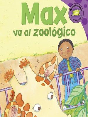 cover image of Max va al zoologico