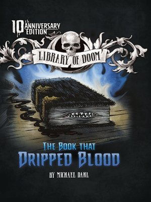 cover image of The Book that Dripped Blood
