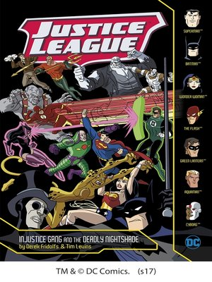 cover image of Injustice Gang and the Deadly Nightshade