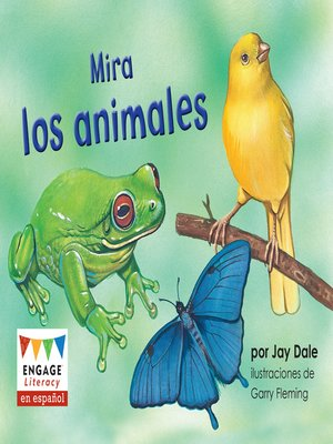 cover image of Mira los animales