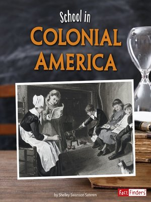 cover image of School in Colonial America