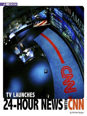 cover image of TV Launches 24-Hour News with CNN