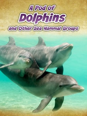 cover image of A Pod of Dolphins