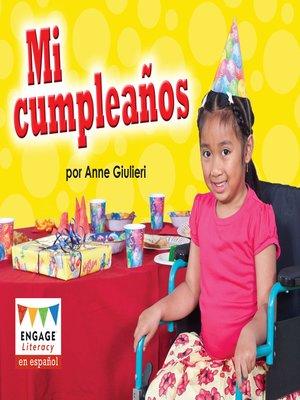 cover image of Mi cumpleaños