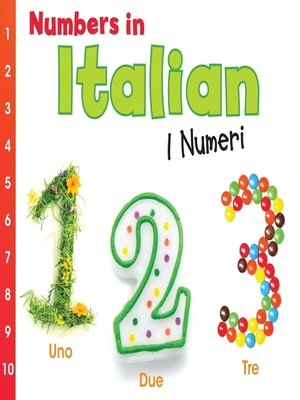 cover image of Numbers in Italian