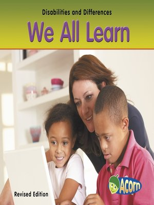 cover image of We All Learn