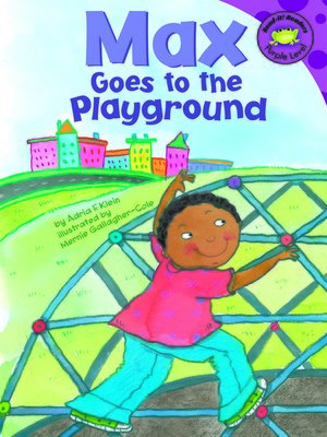 cover image of Max Goes to the Playground