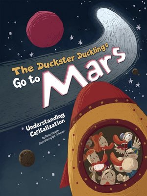 cover image of The Duckster Ducklings Go to Mars