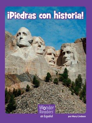 cover image of Piedras con historia