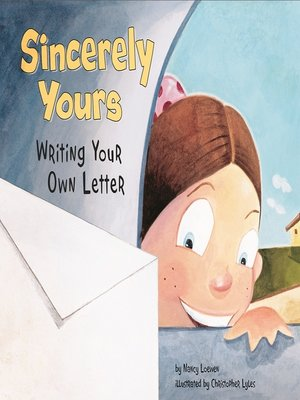 cover image of Sincerely Yours