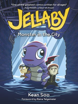 cover image of Jellaby: Monster in the City