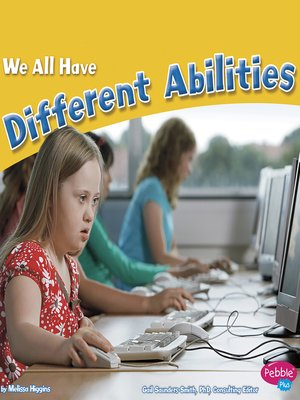 cover image of We All Have Different Abilities