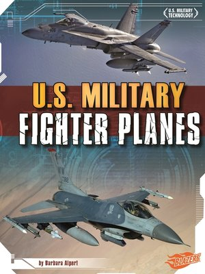 cover image of U.S. Military Fighter Planes
