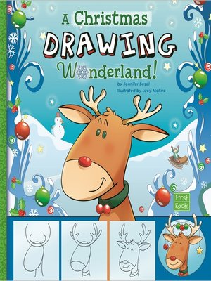 cover image of A Drawing a Christmas Wonderland