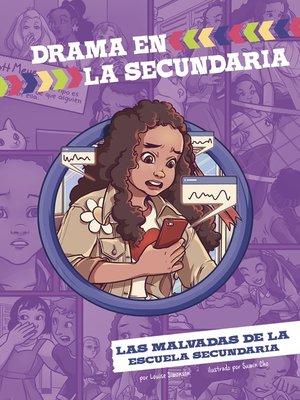 cover image of Las malvadas de la escuela secundaria