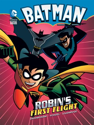 cover image of Robin's First Flight