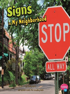 cover image of Signs in My Neighborhood