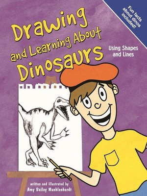 cover image of Drawing and Learning About Dinosaurs