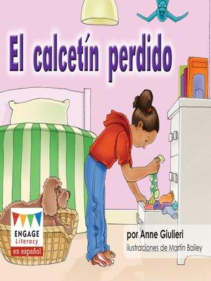 cover image of El calcetín perdido