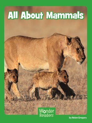 cover image of All About Mammals