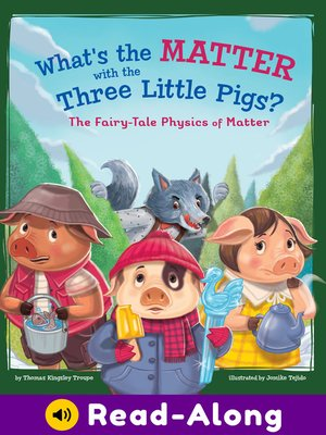 cover image of What's the Matter with the Three Little Pigs?