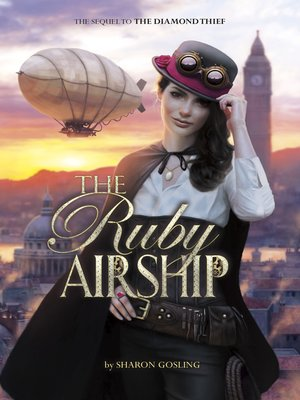 cover image of The Ruby Airship