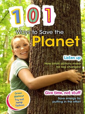 cover image of 101 Ways to Save the Planet