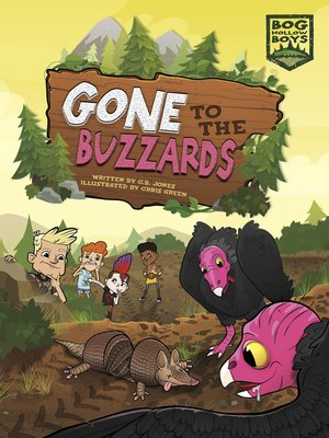 cover image of Gone to the Buzzards