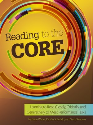 cover image of Reading to the Core