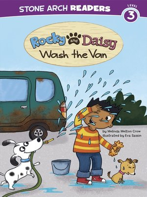 cover image of Rocky and Daisy Wash the Van