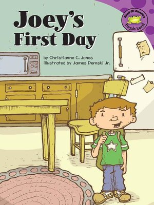 cover image of Joey's First Day