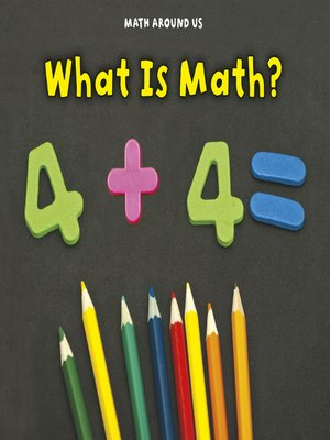 cover image of What is Math?