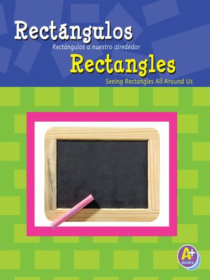 cover image of Rectángulos/Rectangles