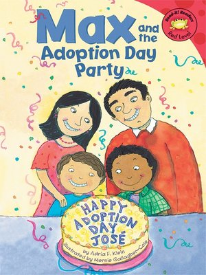 cover image of Max and the Adoption Day Party
