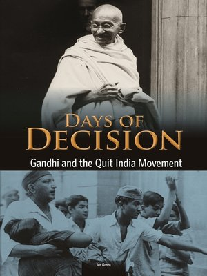 cover image of Gandhi and the Quit India Movement