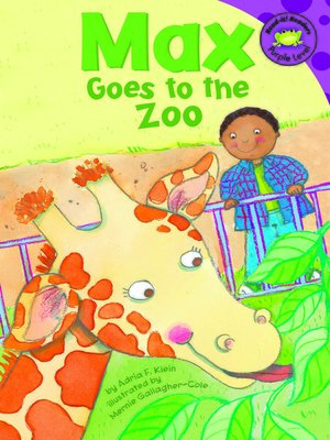 cover image of Max Goes to the Zoo