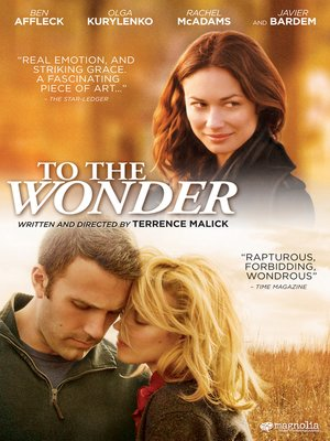 cover image of To The Wonder