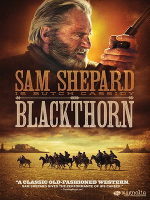 cover image of Blackthorn