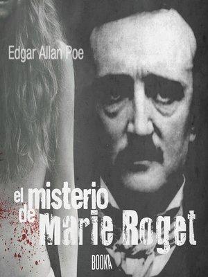 cover image of El Misterio de Marie Roget