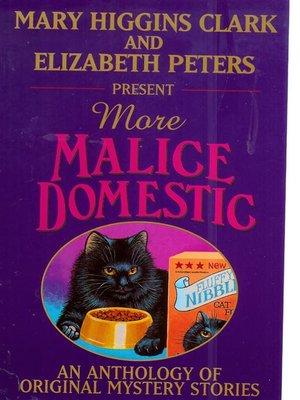 cover image of More Malice Domestic