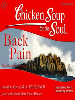 cover image of Chicken Soup for the Soul Healthy Living: Back Pain